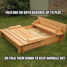 Sandbox for grandson