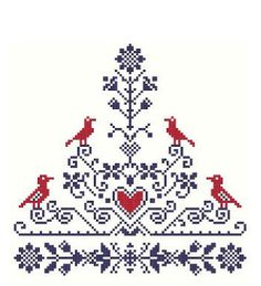 Tree of Life - Cross Stitch Pattern PDF