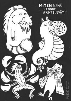 Kortti Kuvan oliot ovat mielikuvitusolentoja, joilla on myös… Music Therapy, Speech Therapy, Early Childhood Education, Music Education, Writing Skills, Homeschool, Drama, Snoopy, Fictional Characters