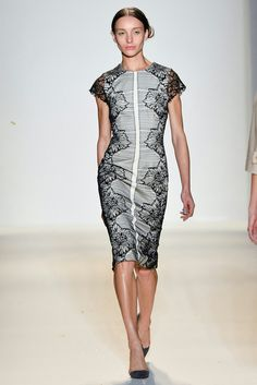 ca35d5dbfe2230 See all the Collection photos from Lela Rose Spring Summer 2014  Ready-To-Wear now on British Vogue