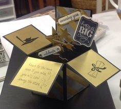 Graduation card in a box by skitter - Cards and Paper Crafts at Splitcoaststampers