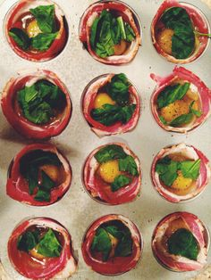 Paleo Breakfast - Bacon egg muffins