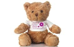 I Just Love It Personalised Bridesmaid Teddy Bear Personalised Bridesmaid Teddy Bear - Gift Details. A huggable keepsake for the ladies who helped you tie the knot our personalised bridesmaid bear makes a fabulous thank you gift for your bridesmaids http://www.MightGet.com/january-2017-11/i-just-love-it-personalised-bridesmaid-teddy-bear.asp