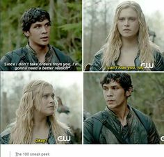 Aahhh I can't even... bellarke all the way