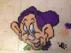 Dopey perler bead pattern by JennyDreadful