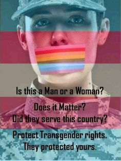 #NoTransBan  I'm not even American but this issue is just too fucked up.