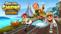 Talking Tom Gold Run And Subway Surfers Iceland Android Gameplay  - Game...