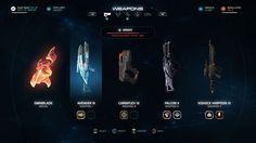 Mass Effect Andromeda Interfaces Web Design, Site Design, Game Interface, Interface Design, Game Card Design, Card Ui, Game Gui, Sports App, Ui Web