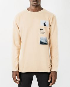 Long Sleeve Chaotical (Dupla face)