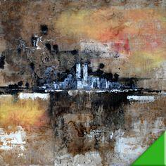 SKYLINE NY óleo sobre lienzo   122x80