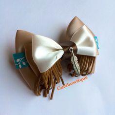 Pocahontas hair bow