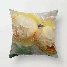 The Rose Duet Throw Pillow by alexandracummings