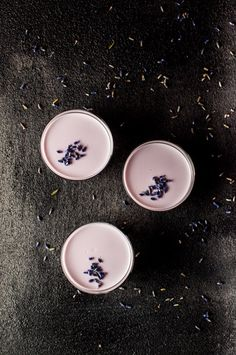 Lavender panna cotta is an impressive dessert that is easier to make ...