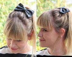 3 penteados (fáceis!) para fazer com laço » Coisas de Diva