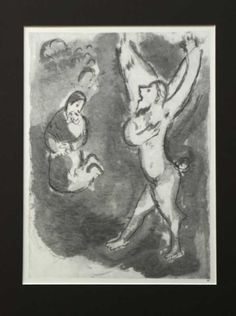 The Bible Scenes by Marc Chagall #marcchagall #Marc-Chagall #Chagall http://www.johanpersyn.com/blog-page/