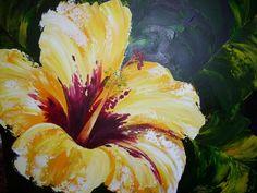 Acrylic Paintings Flowers for fridge Acrylic Painting Flowers, Easy Canvas Painting, Easy Paintings, Paint Flowers, Flower Paintings, Acrylic Paintings, Hawaii Flowers, Pastel Flowers, Art Sites