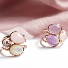 These rings showcase a perfect blend of personalization and versatility. . . . . . . . . . . . .