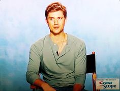 When he made this face. | The 42 Most Seductively Charming Aaron Tveit Moments Of All Time