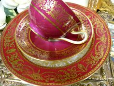 Tirschenreuth Bavaria - Germany Tea Cup and Saucer