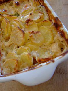 Batatas gratinadas à moda do Florian
