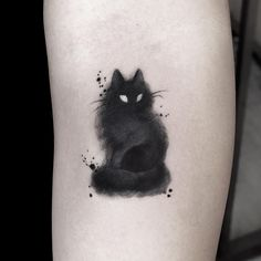 30 charming cat tattoo ideas for cat lovers to try . - 30 charming cat tattoo ideas for cat lovers to try … - Tattoo Sketch, Tattoo Drawings, Body Art Tattoos, Small Tattoos, Girl Tattoos, Tattoos For Women, Tatoos, Belly Tattoos, Crazy Tattoos