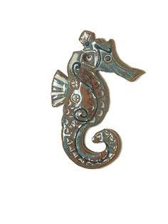 seahorse pottery