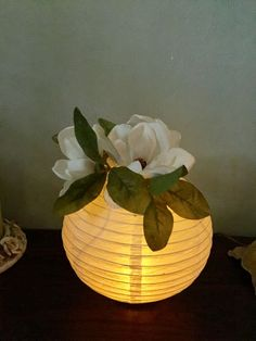 used paper lanterns with a LED tea light for centerpiece& at our class . - Event Decor Ideas -We used paper lanterns with a LED tea light for centerpiece& at our class . Paper Lantern Centerpieces, Reunion Centerpieces, Class Reunion Decorations, Wedding Centerpieces, Decorating With Paper Lanterns, Diy Paper Lanterns, Paper Lantern Chandelier, Ideas Lanterns, Festa Party