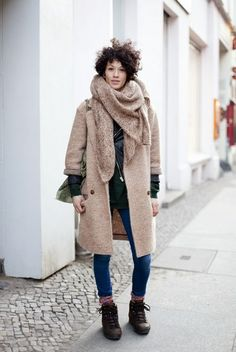 neutral layers of winter warmth