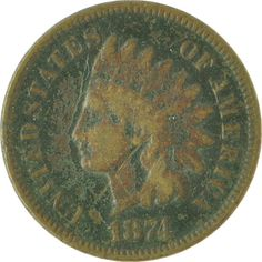 Indian Head Penny Protection from curses by Southernspiritscurio, $3.00