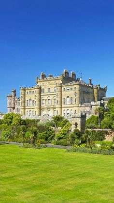 At the Culzean Castle in Scotland.