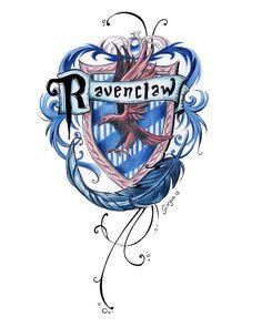 ravenclaw, harry potter, and hogwarts image - Most creative tattoo list Harry Potter Casas, Arte Do Harry Potter, Harry Potter Houses, Harry Potter Love, Harry Potter Universal, Hogwarts Houses, Harry Potter World, Rowena Ravenclaw Diadem, Slytherin