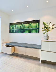 KjøKken Sittebenk CSQ65 - E&HCreates Under Stairs, Dining Room Design, Ikea, Bench, Storage, Kitchen, Inspiration, Furniture, Home Decor