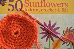 Kristin Nicholas Crochet and Knit Sunflower Book