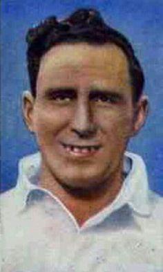 George Mutch of Preston North End & Scotland in 1938.