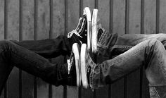 Image detail for -black and white, boy, converse, couple, couples, cute - inspiring ...