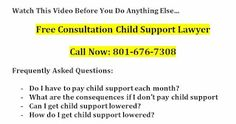 Free Consultation Child Support Lawyer South Jordan Utah  Check out this great video to answer the FAQs:    Question: Do I have to pay child support each month?Answer: yes if there is a court order or an administrative order you do. If you are the parent of a child and you and the other parent are separated the parent who has fewer overnights a month should be paying an amount of child support each month to the other parent. If you have an order in place you need to follow that order until…