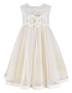 Baby Arianne Dress | Ivory | Monsoon