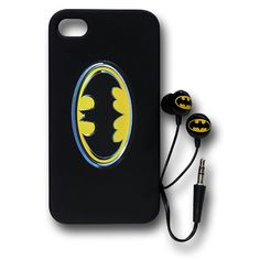 Batman iPhone Case and Earbuds $24.99