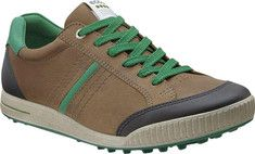 ECCO Golf Street 150594 - Birch/Black/Masters Green Leather