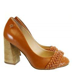 Scarpin Camel 1851 Capodarte | Moselle sapatos finos femininos! Moselle sua boutique online.