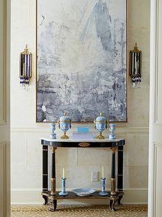 Wedgwood's jasperware designs rangefrom candlesticks to sculptural pieces.