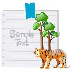 Diseño de fondo de hoja de papel Vector Gratis