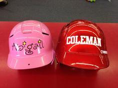 T-ball helmets