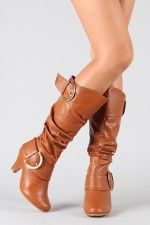 Auto-9 Buckle Slouchy Knee High Boot...only 28.20 at Urbanog.com!!!