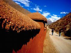 Adobe, Valle del Elqui, Chile