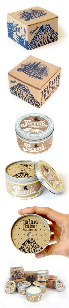 Polevik Candle Package Design on Packaging Design Served · Sugar meat Packaging Box, Candle Packaging, Paper Packaging, Print Packaging, Clever Packaging, Candle Labels, Label Design, Branding Design, Package Design