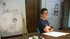 Alison Bechdel -- Inventor of the Bechdel Test, and s graphic novelist & cartoonist -- won the MacArthur Genius grant. Officially a Genius! Alison Bechdel, Are You My Mother, Cultural Criticism, Critical Theory, Books You Should Read, Music Film, No Way, Mind Blown