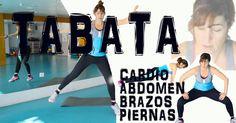 Esta forma de entrenar se llama TABATA y consiste en trabajar durante 4 minutos todo el cuerpo buscando ejercicios intensos y que engloban el máximo número de músculos.