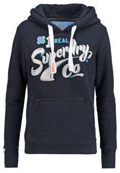 Superdry LIPSTICK STROKE Sweatshirt eclipse navy prix promo Sweatshirt femme Zalando 80.00 € TTC