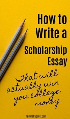 to Write A Successful Scholarship Essay These are great tips for writing a successful scholarship essay. I'm liking her track record, too.These are great tips for writing a successful scholarship essay. I'm liking her track record, too. Financial Aid For College, College Planning, Education College, College Checklist, College Counseling, College Costs, College Classes, Education Humor, Education System